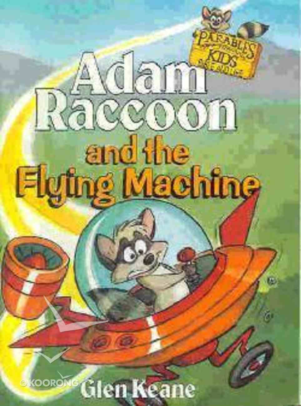 Adam Raccoon and the Flying Machine Paperback