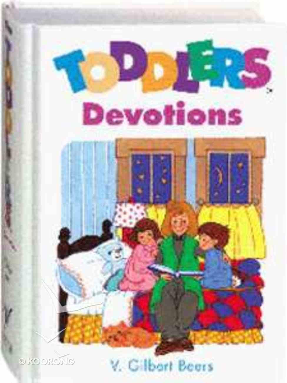 Toddlers Devotions Hardback