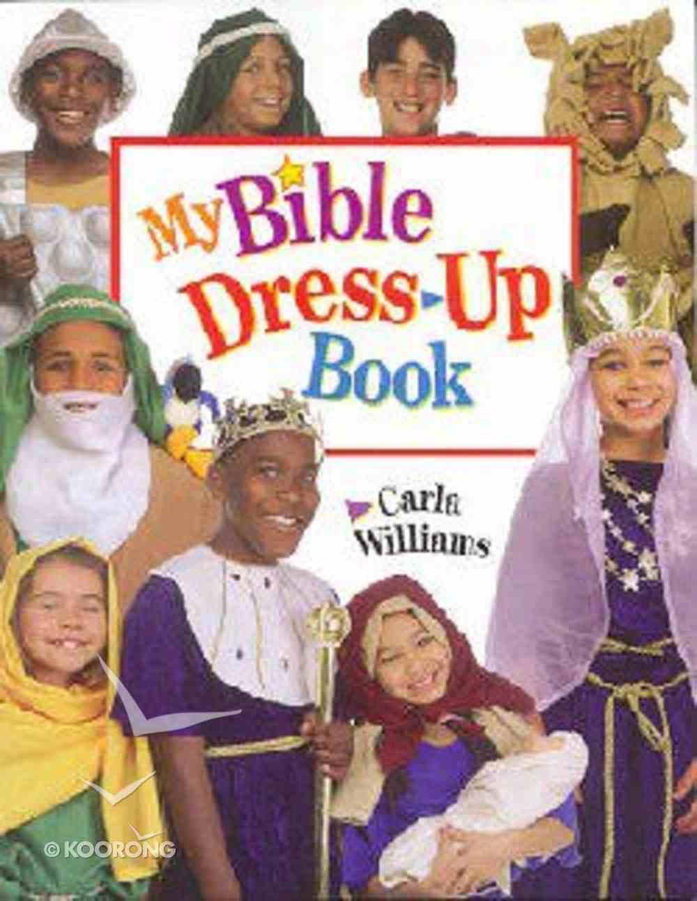 My Bible Dress Up Book Paperback