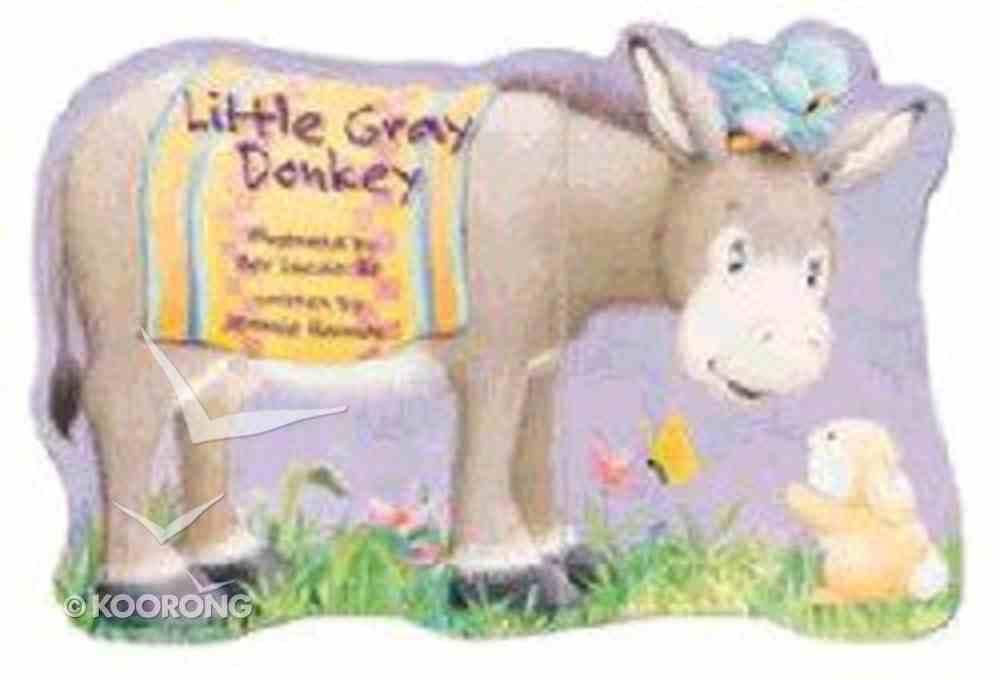 Little Gray Donkey Board Book