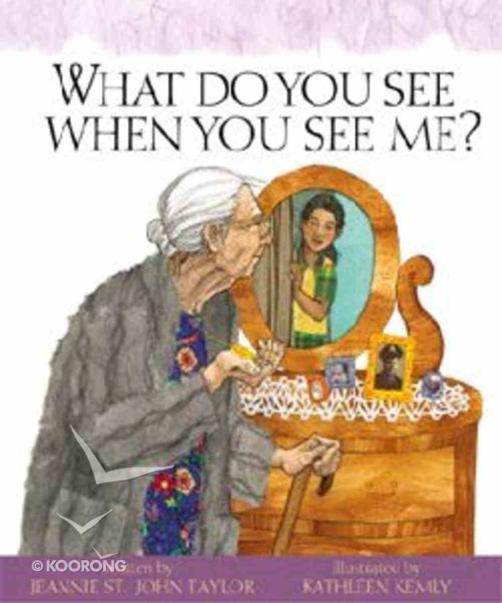 What Do You See When You See Me? Hardback