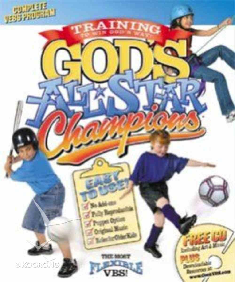 Vebs God's All-Star Champions KJV (Reproducible) Pack