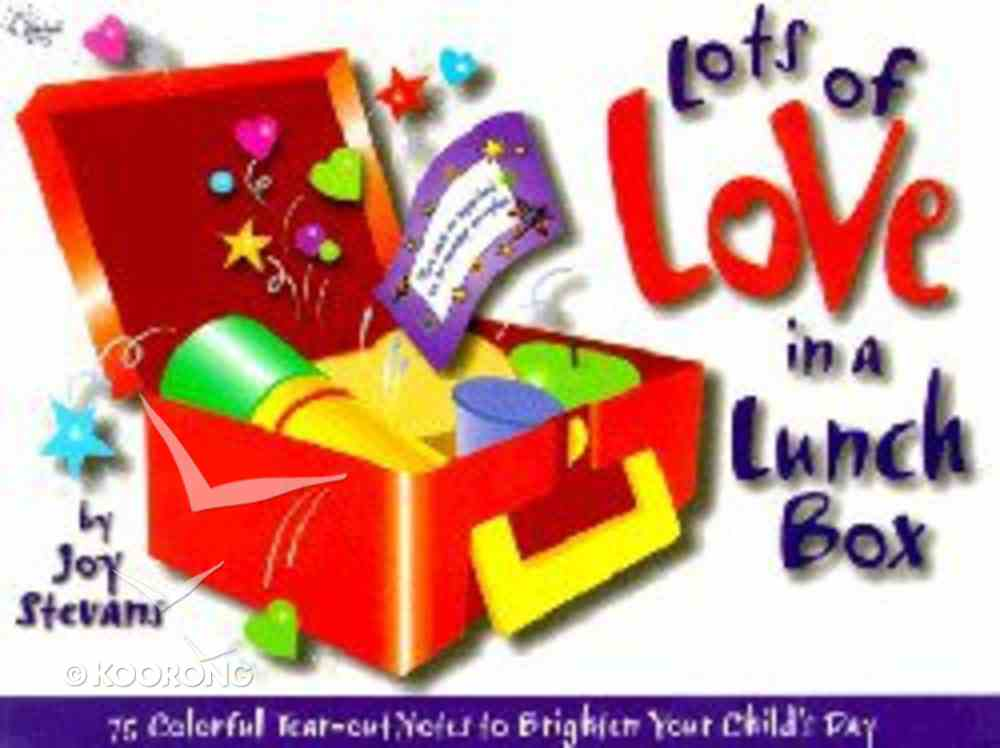 Lots of Love in a Lunch Box Paperback