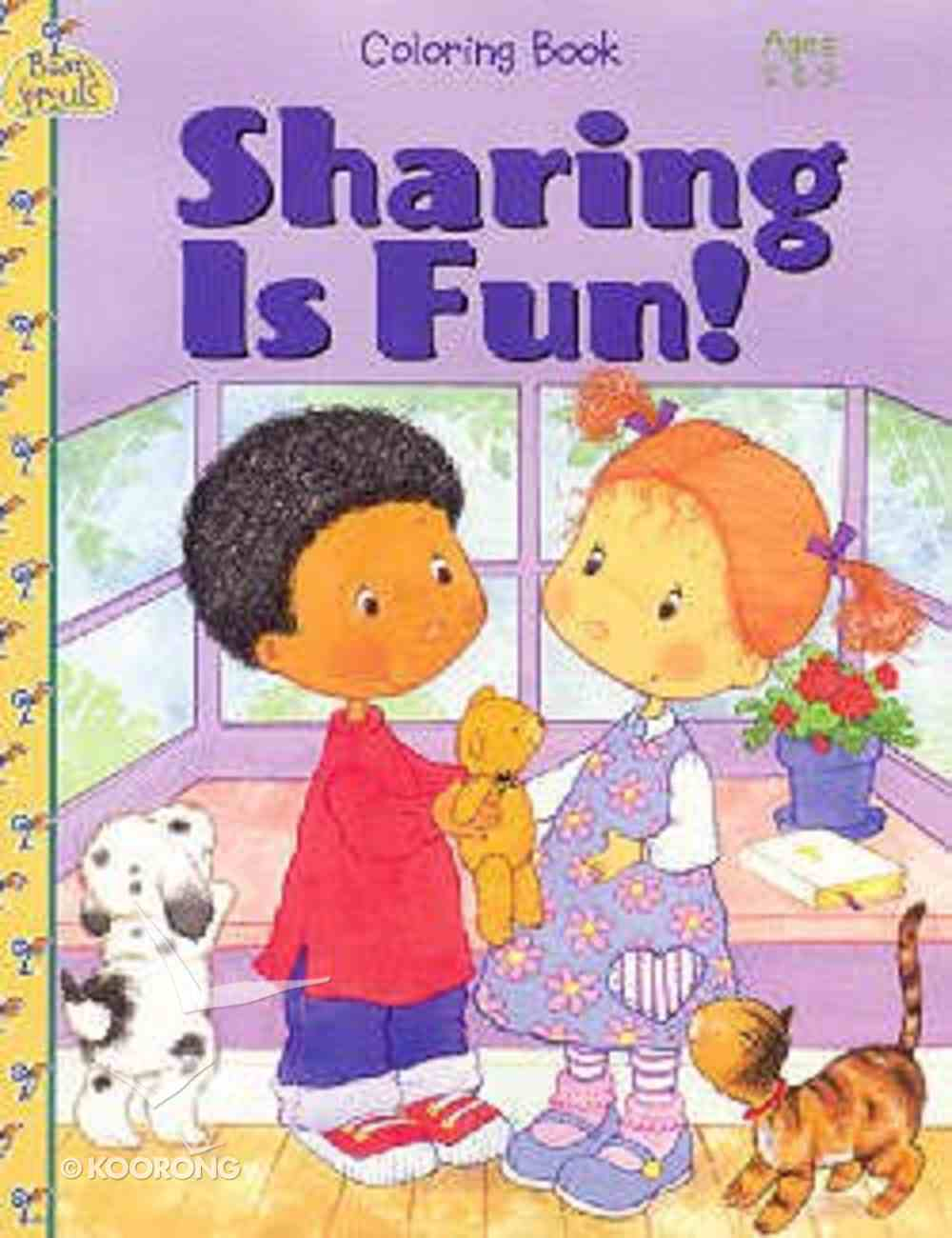 Sharing is Fun! (Colouring Book) Paperback