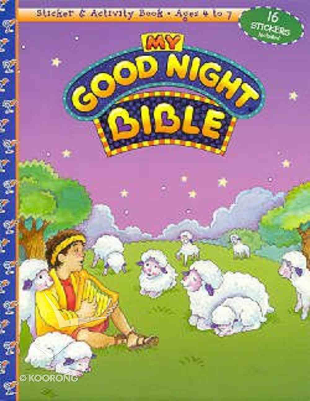 My Good Night Bible (Sticker & Activity Series) Paperback
