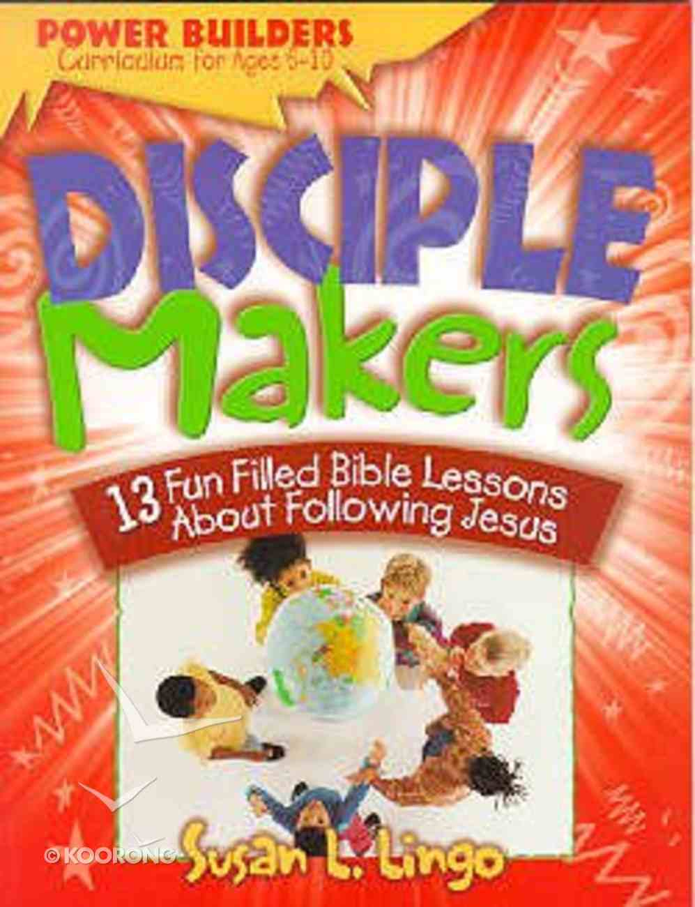 Power Builders: Disciple Makers Paperback