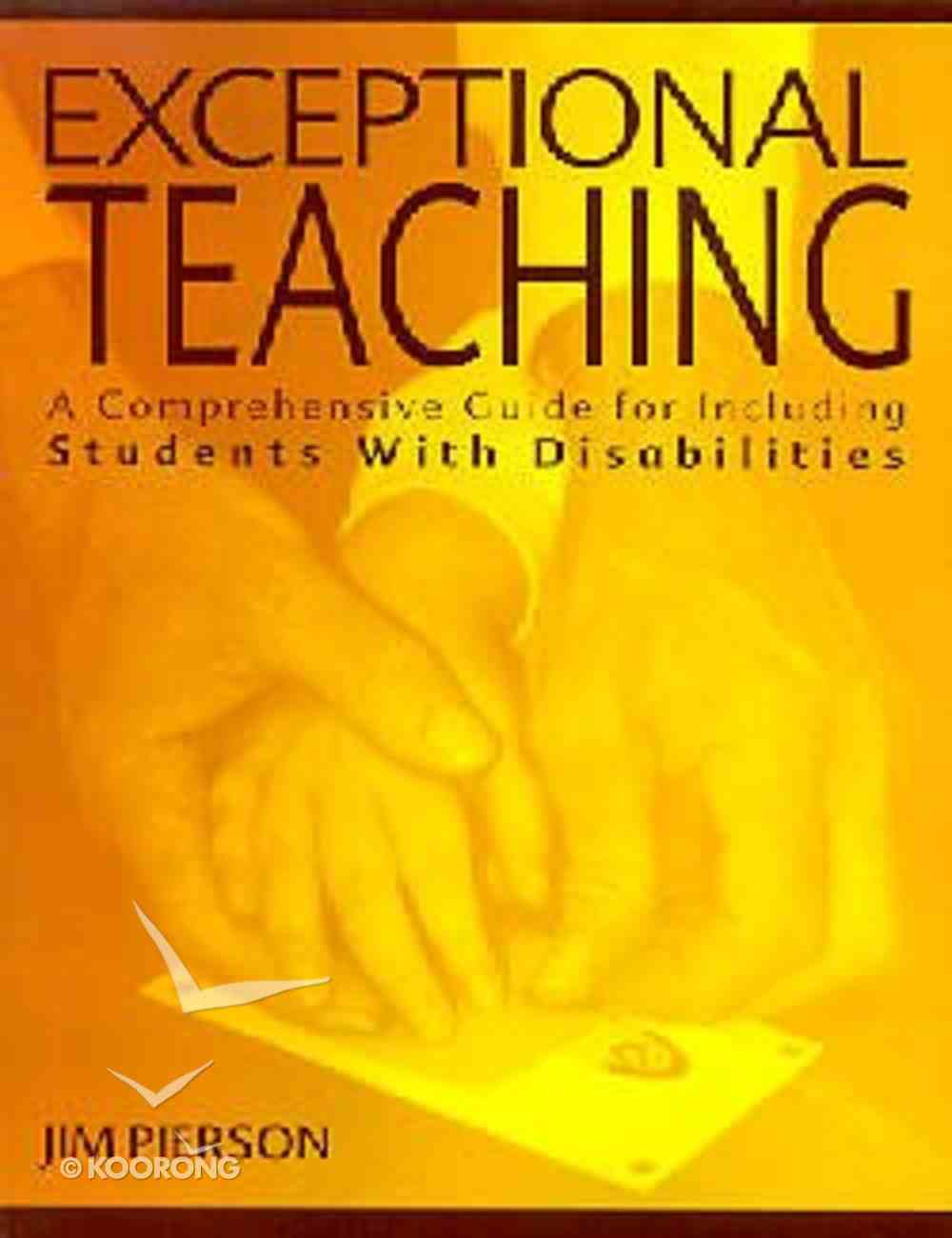 Exceptional Teaching Paperback
