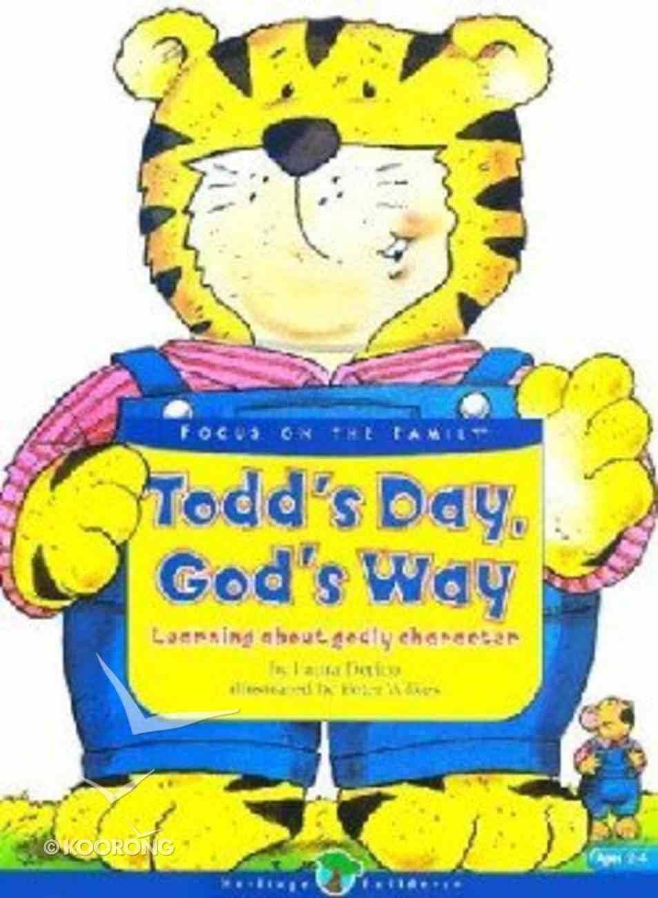 Todd's Day, God's Way (Heritage Builders Series) Board Book