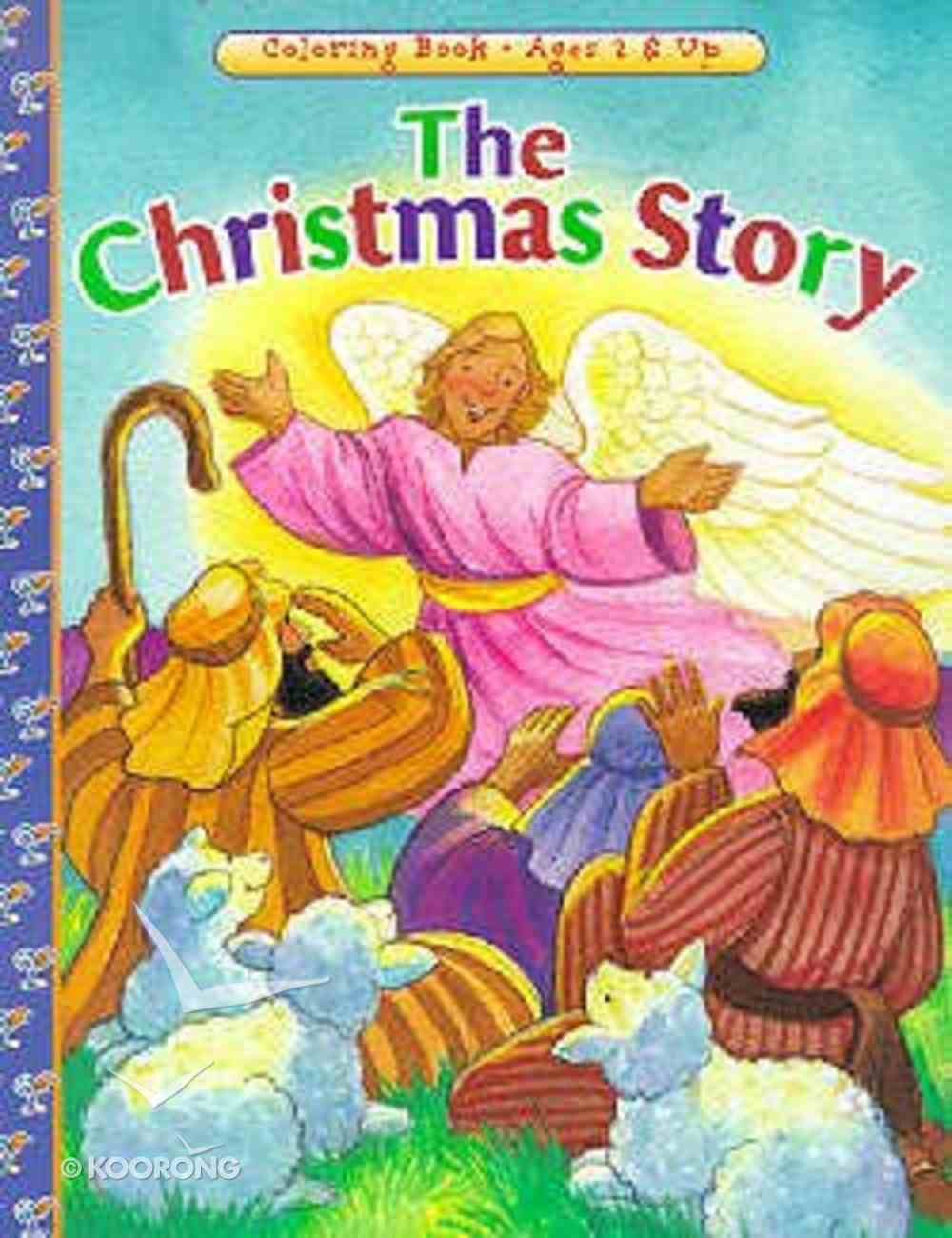 The Christmas Story (Colouring Book) Paperback