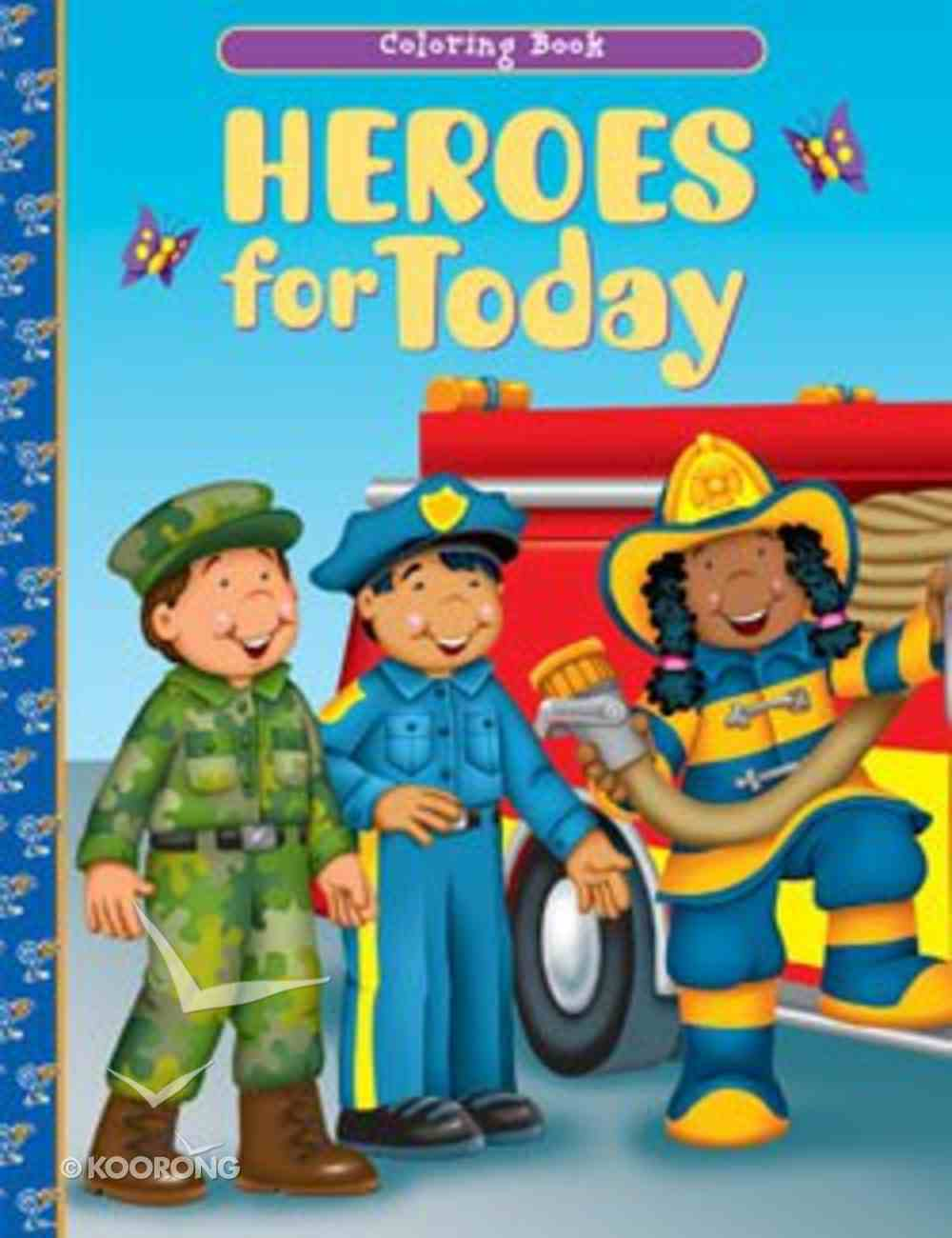 Heroes For Today (Coloring Book) Paperback