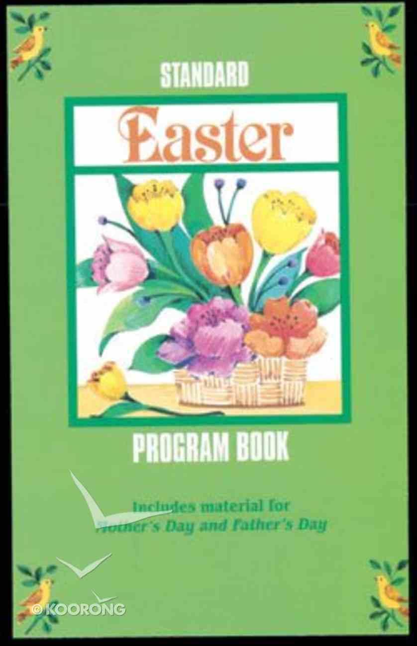 Standard Easter Program Book (Reproducible) Paperback