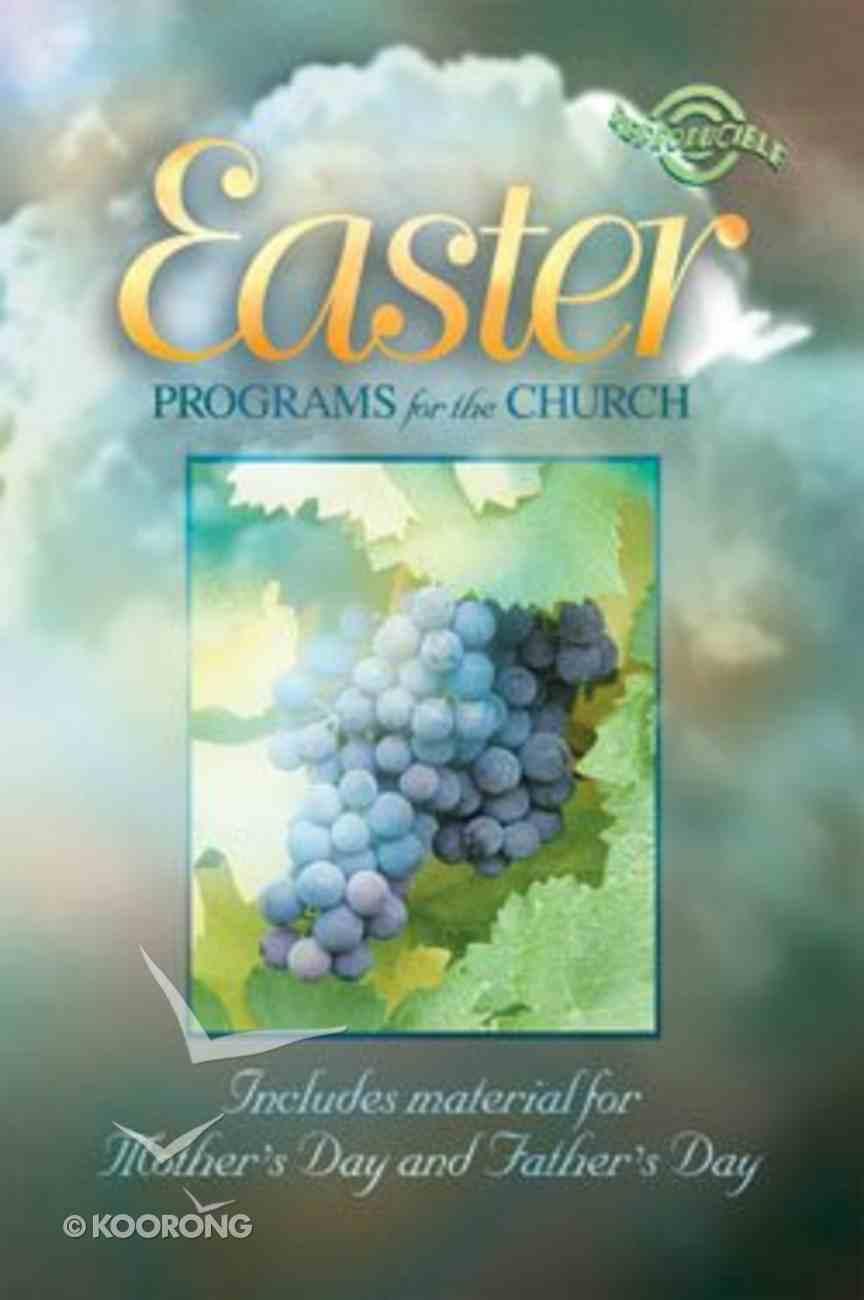 Easter Programs For the Church (Reproducible) Paperback