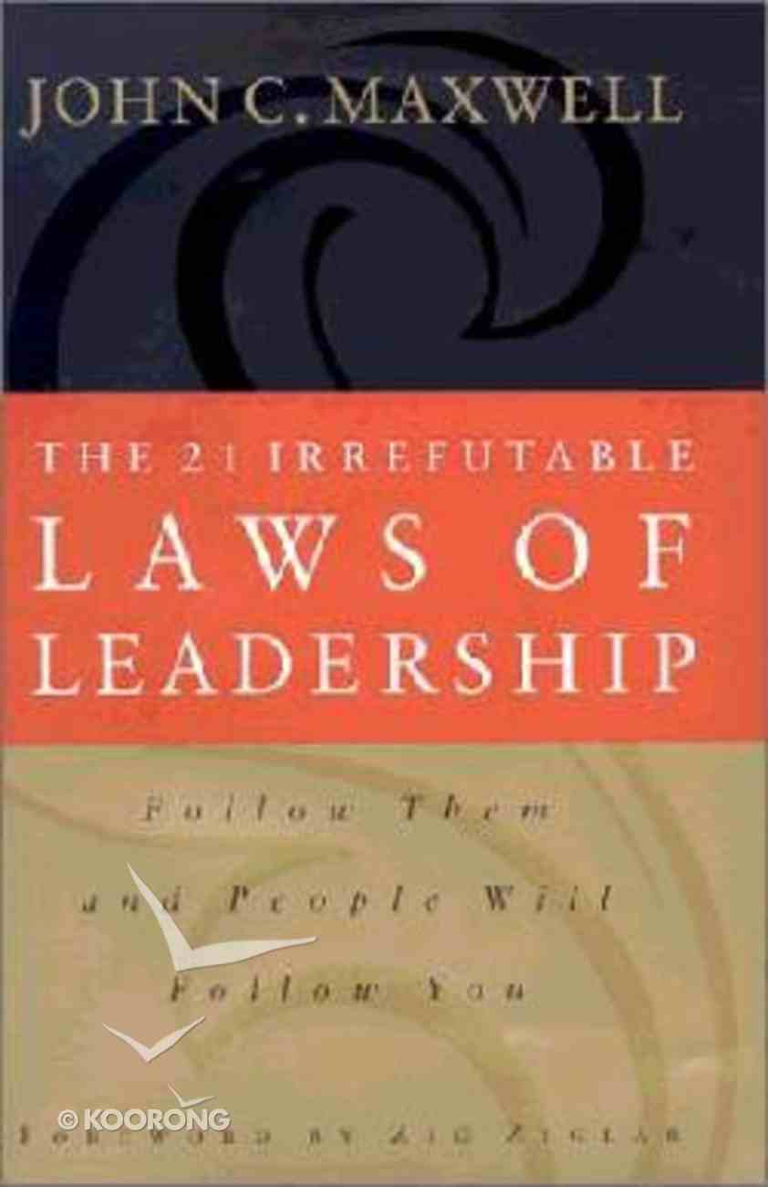 Video Living the 21 Irrefutable Laws of Leadership (Kit) Pack