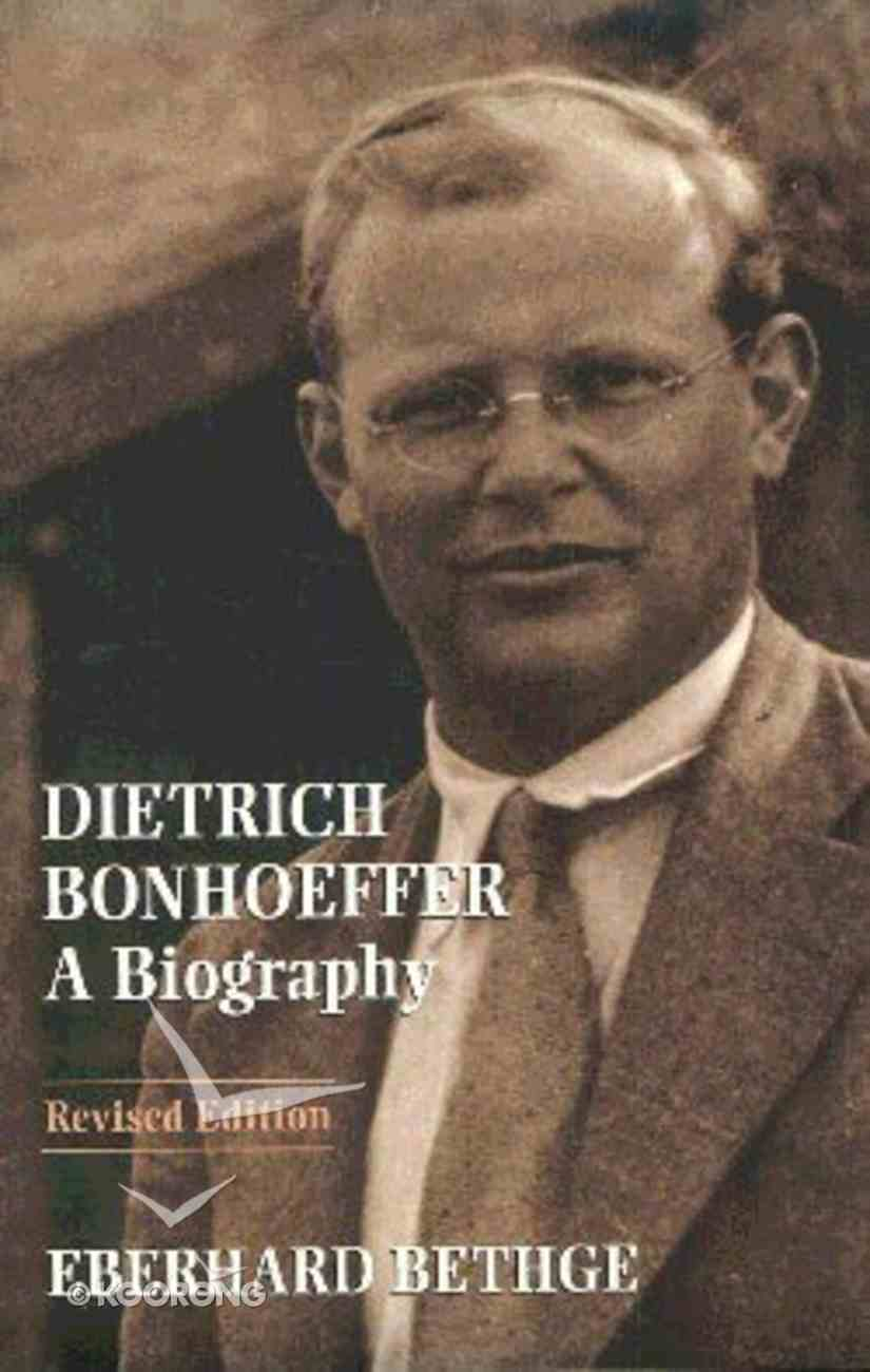 Dietrich Bonhoeffer Paperback