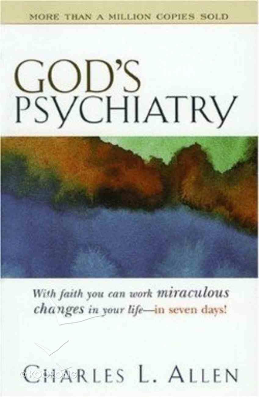 God's Psychiatry Paperback