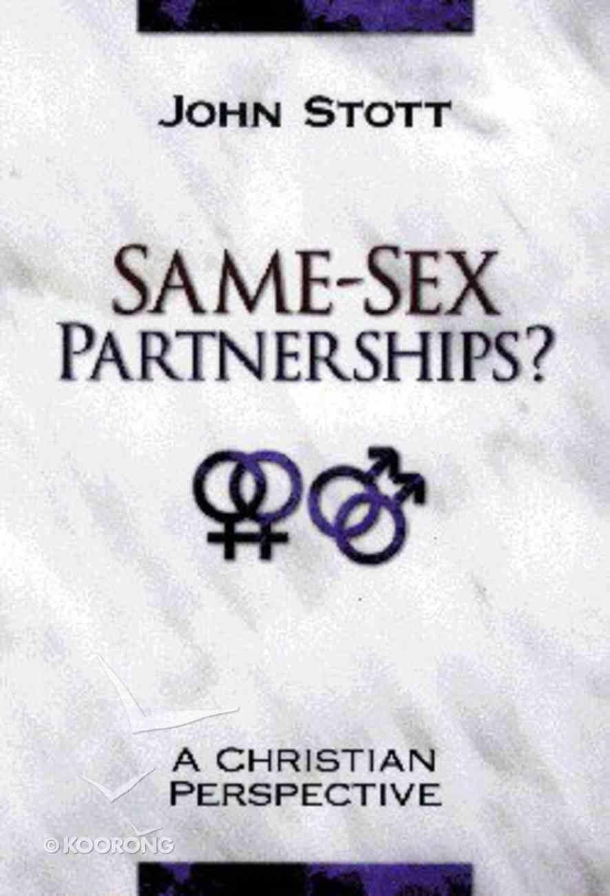 Same-Sex Partnerships? Paperback
