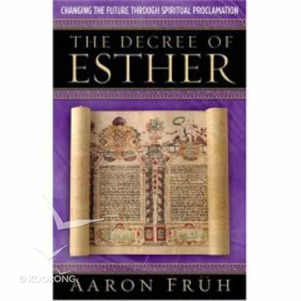 The Decree of Esther Paperback
