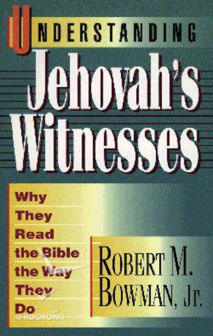 Understanding Jehovah's Witnesses Paperback