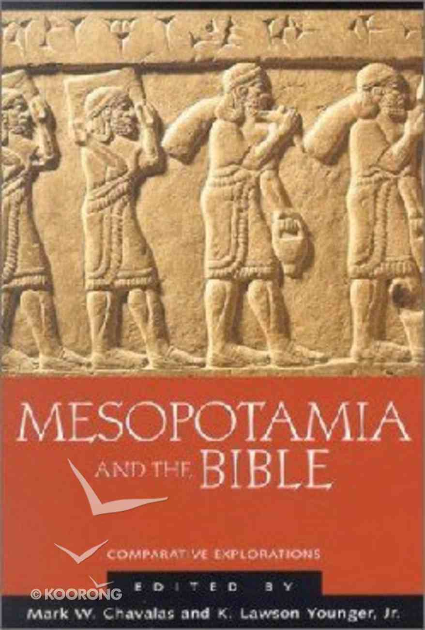 Mesopotamia and the Bible Paperback