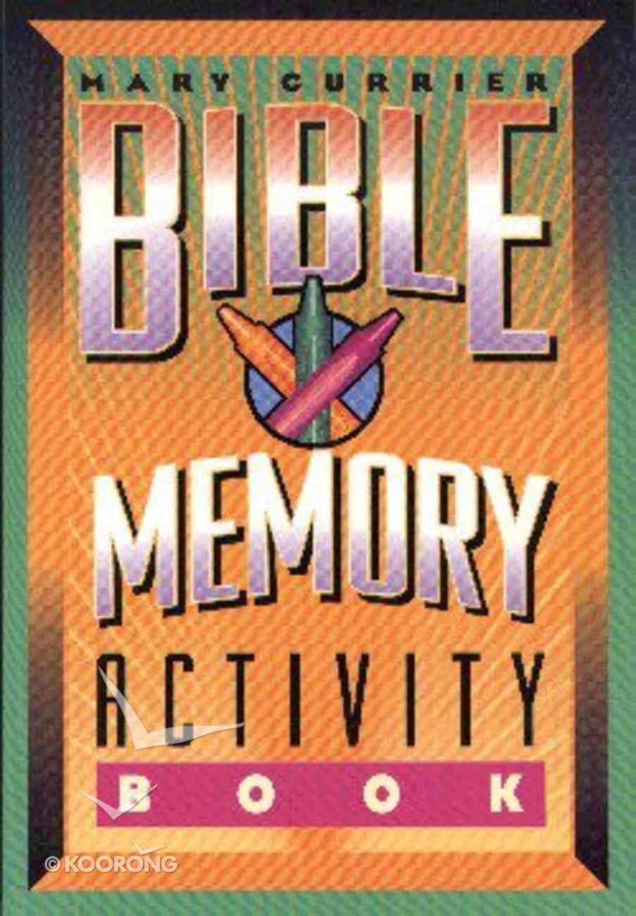 Bible Memory Activity Book Paperback
