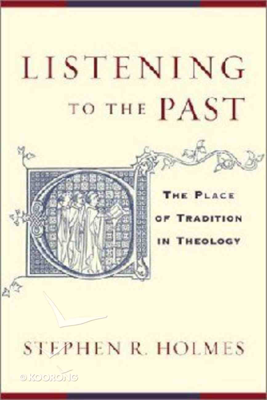 Listening to the Past Paperback