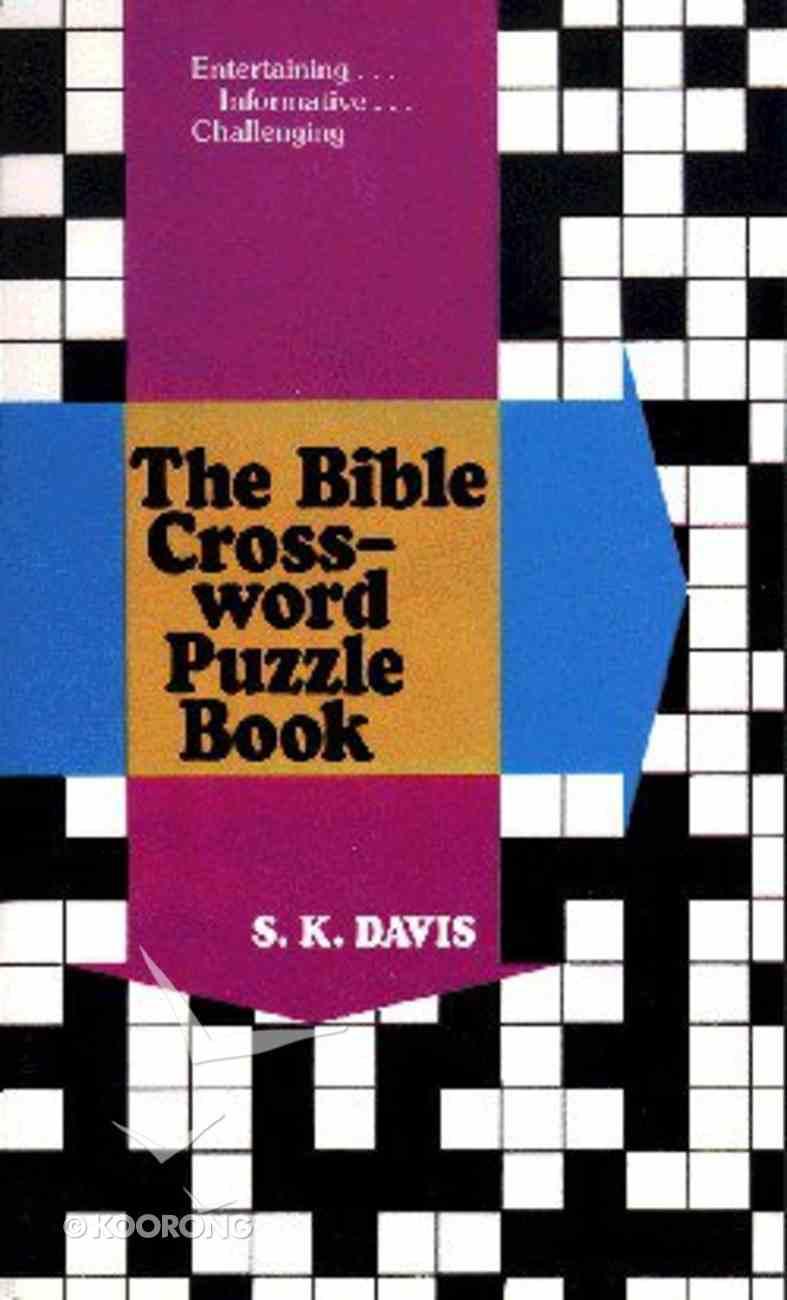 Bible Crossword Puzzle Book Paperback