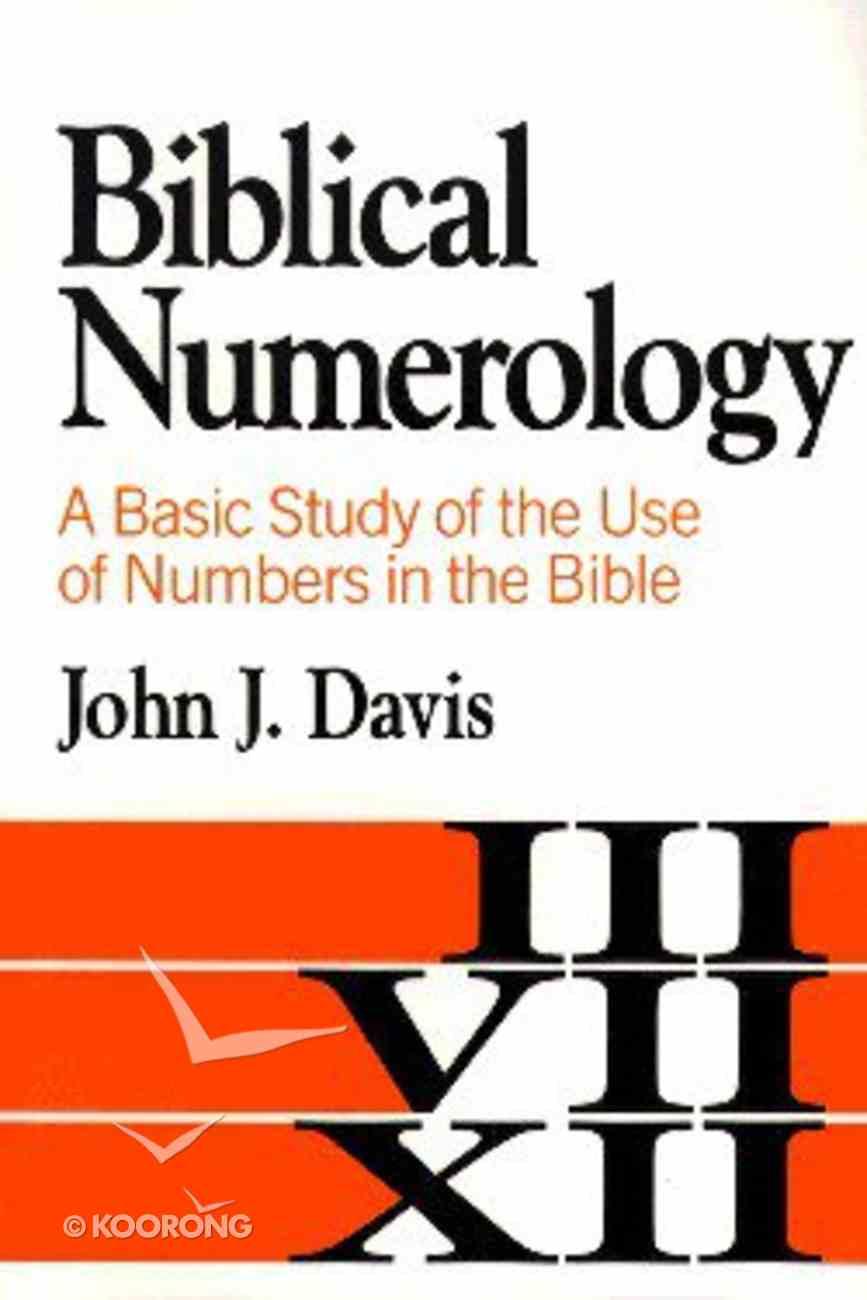 Biblical Numerology Paperback