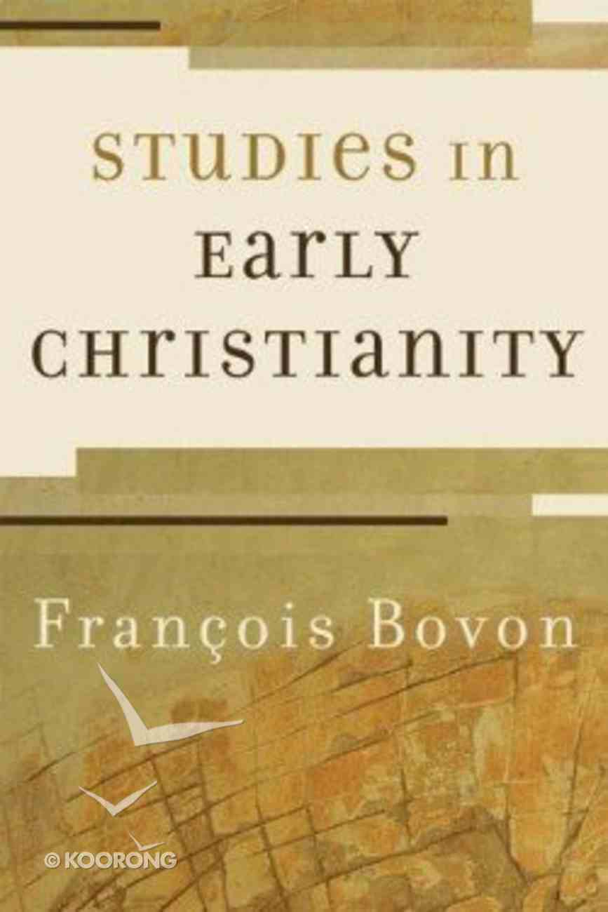 Studies in Early Christianity Paperback
