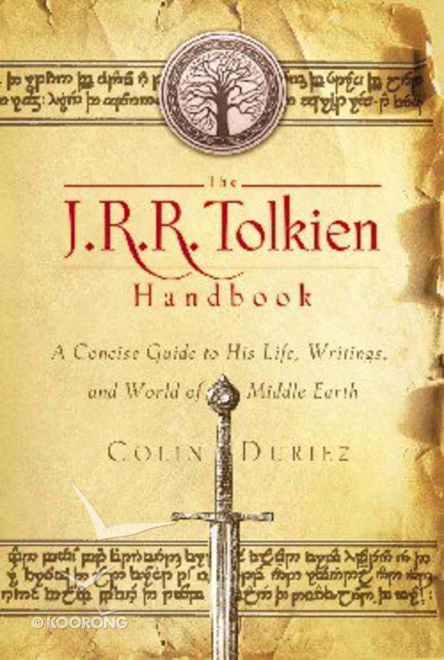 The J R R Tolkien Handbook Paperback