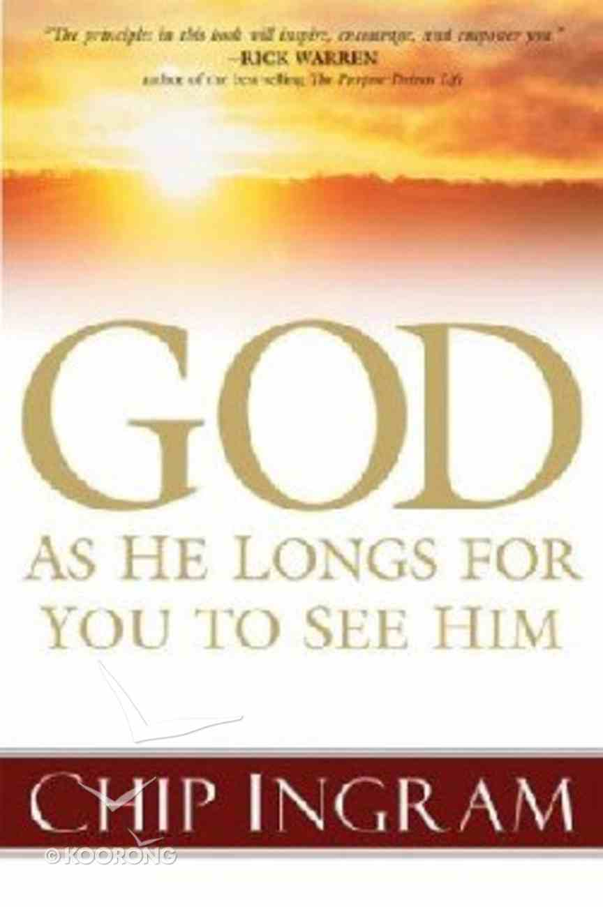 God: As He Longs For You to See Him CD