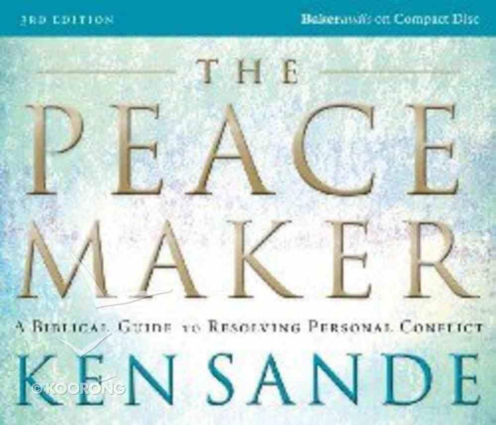 The Peacemaker (4 Cds Abridged) CD