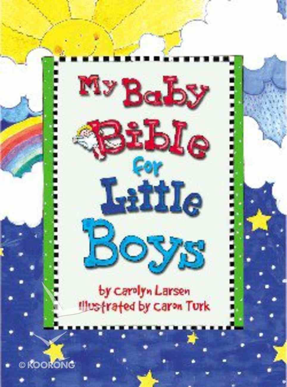 My Baby Bible For Little Boys Hardback
