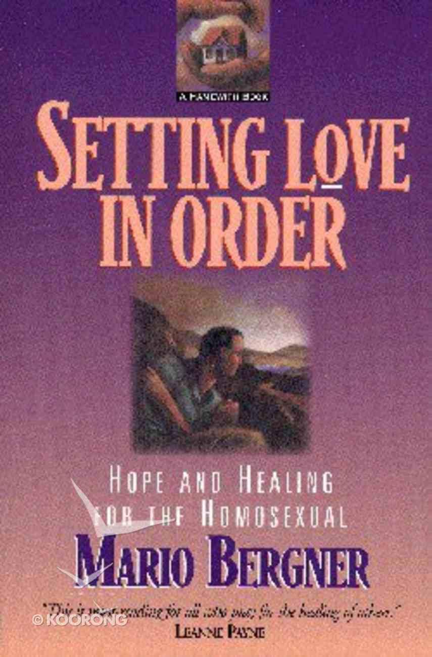 Setting Love in Order Paperback