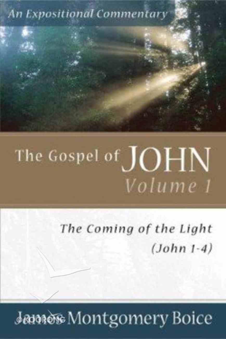 Gospel of John (Volume 1) (Expositional Commentary Series) Paperback