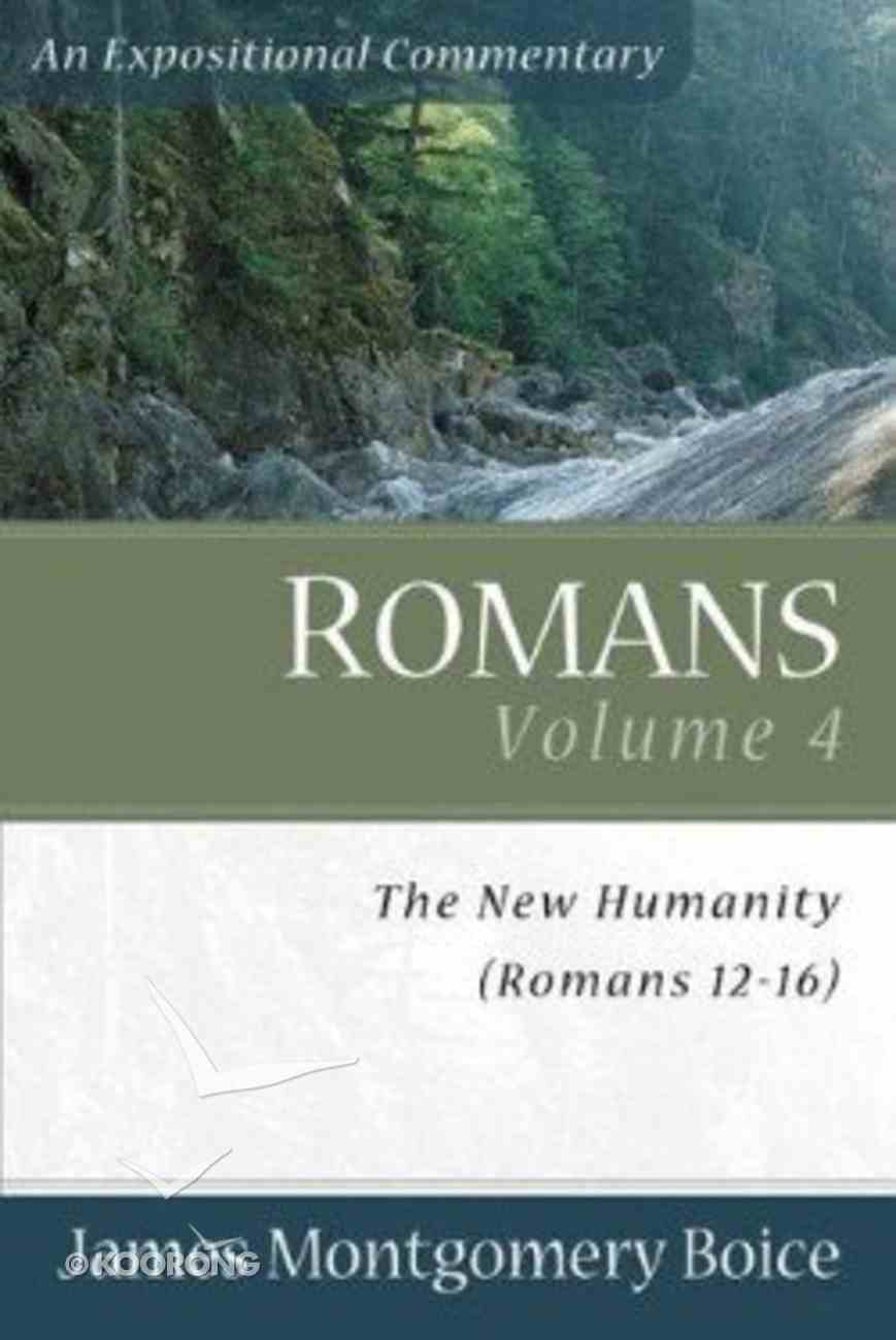 Romans (Volume 4) (Expositional Commentary Series) Paperback