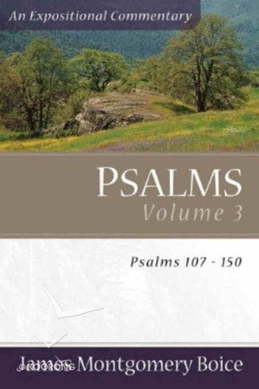 Psalms (Volume 3) (Expositional Commentary Series) Paperback