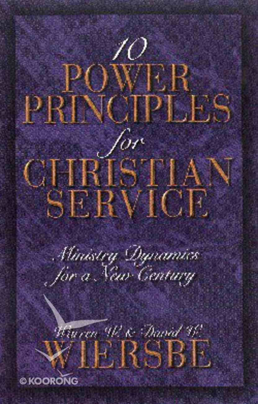 Ten Power Principles For Christian Service Paperback