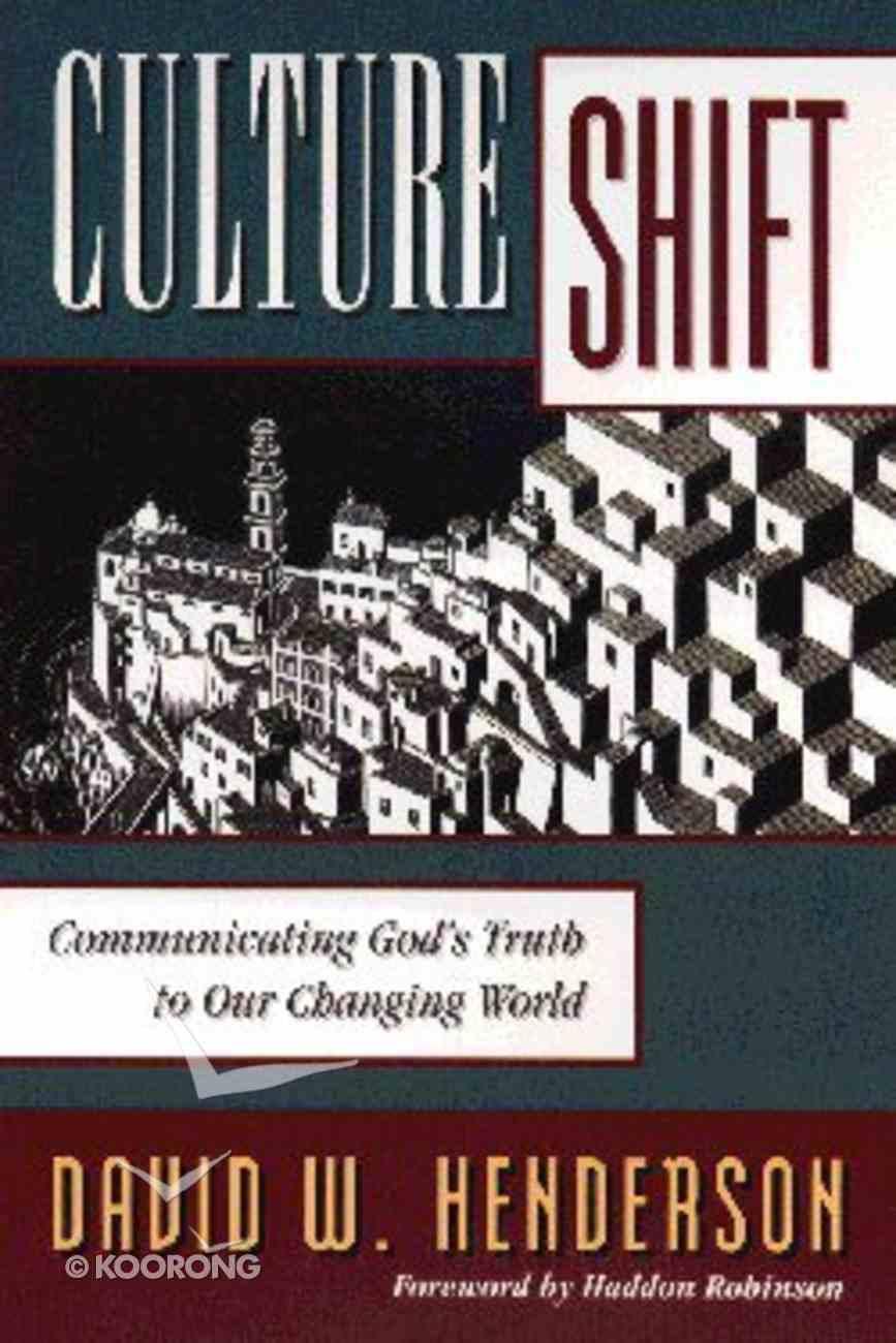 Culture Shift Paperback