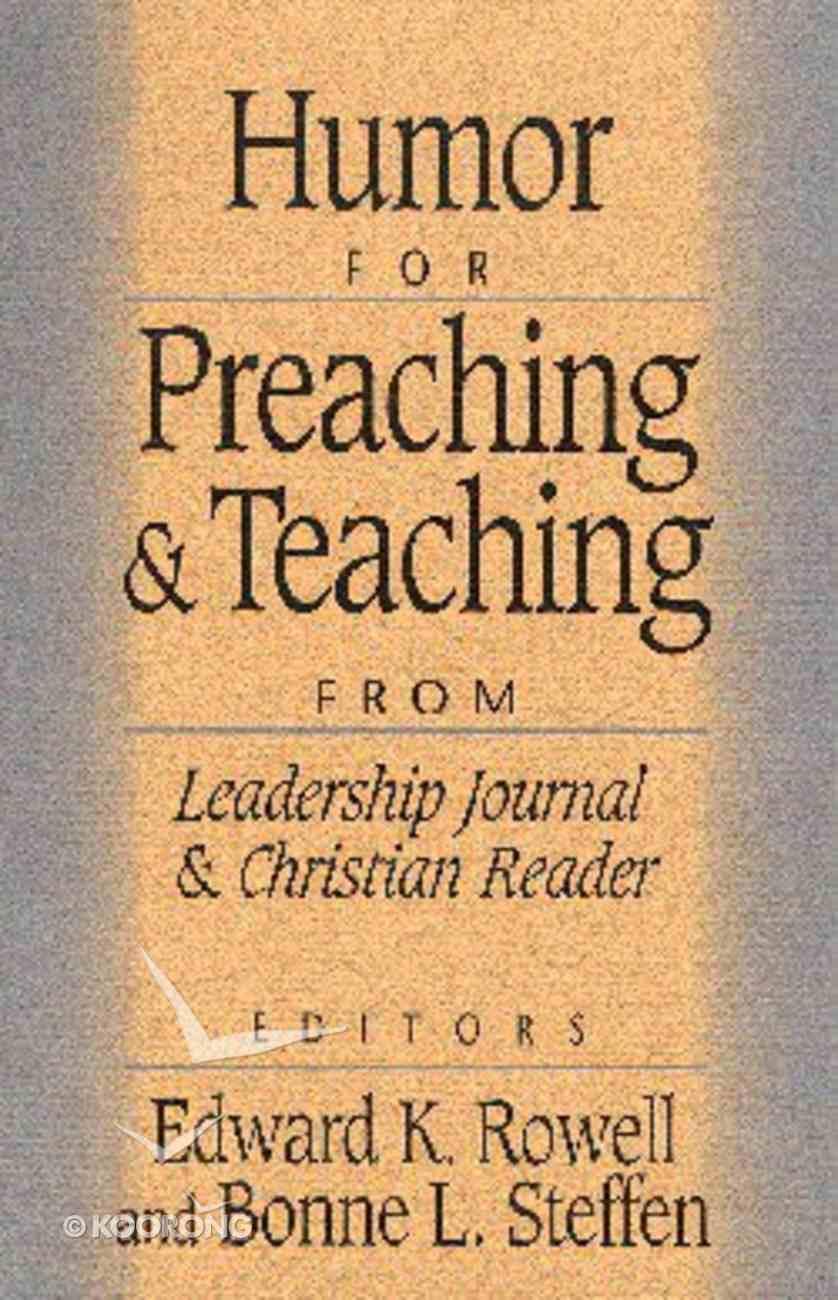 Humor For Preaching & Teaching Paperback