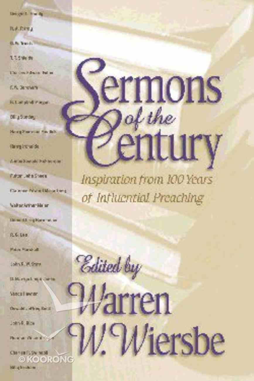 Sermons of the Century Hardback
