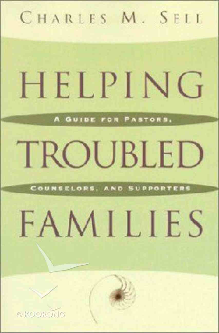 Helping Troubled Families Paperback