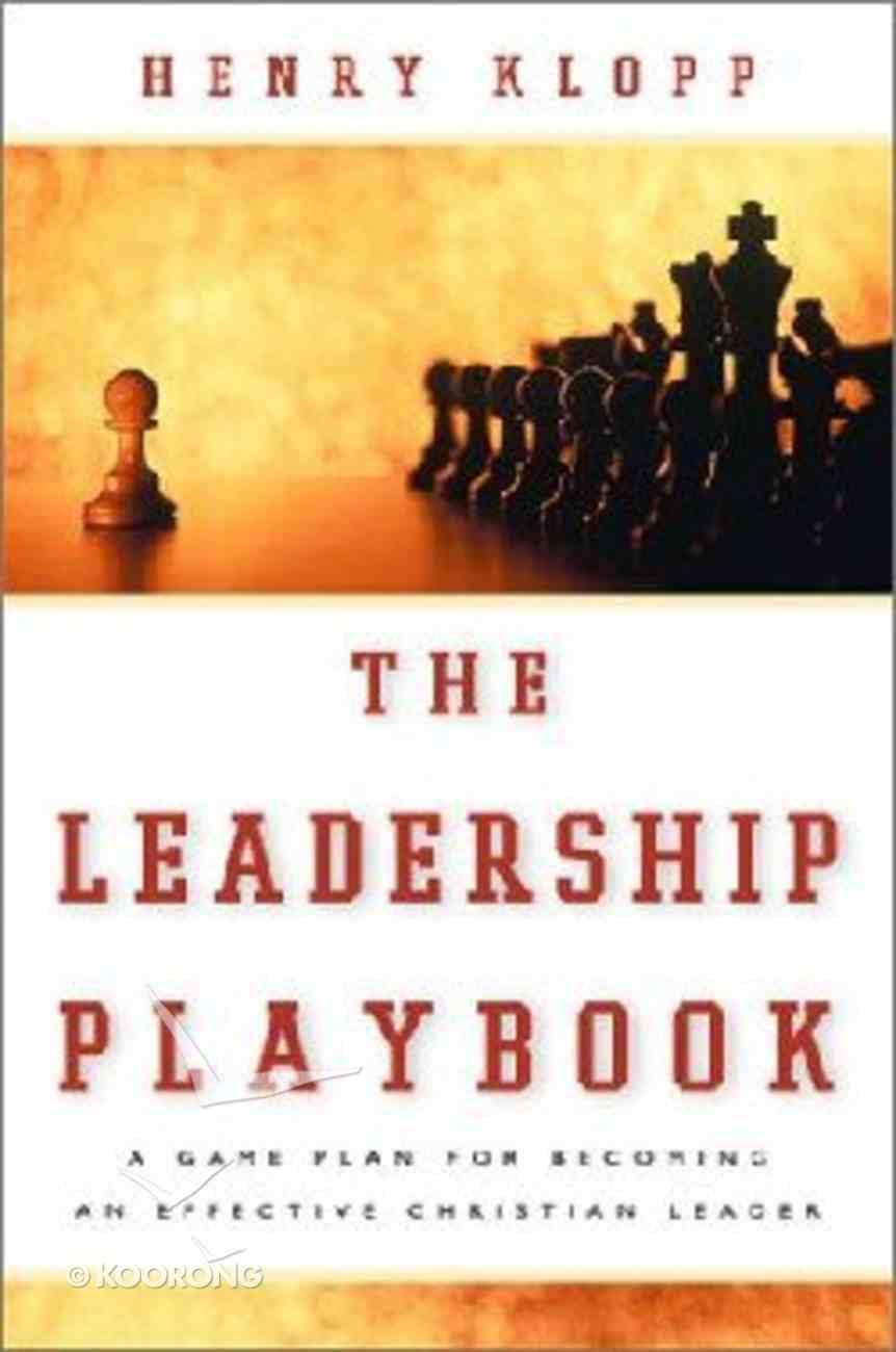 The Leadership Playbook Paperback