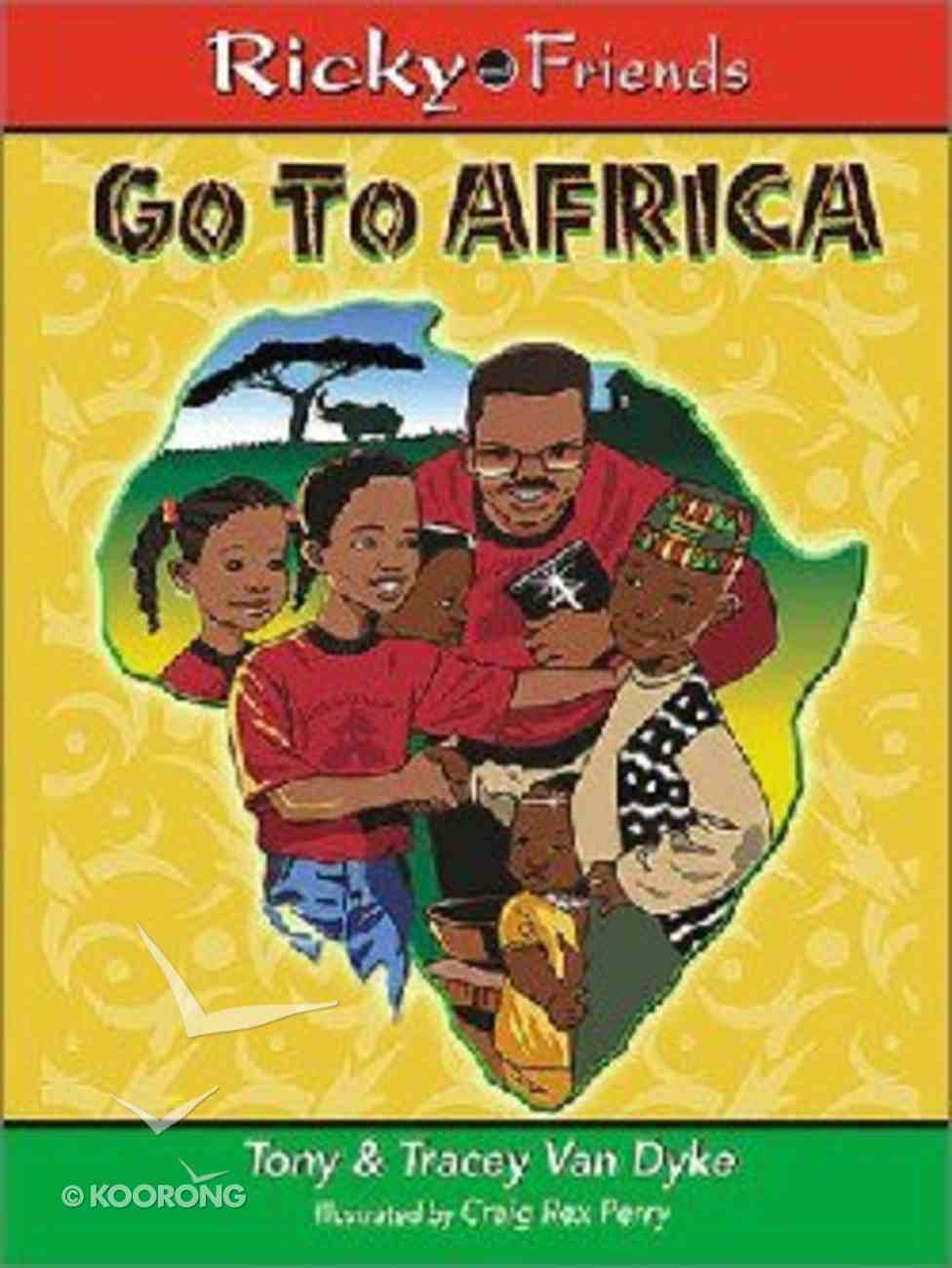 Ricky and Friends Go to Africa Paperback