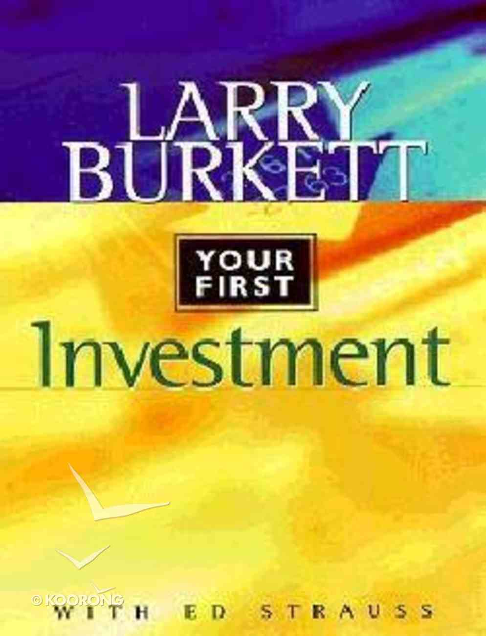 The World's Easiest Pocket Guide to Planning Your First Investment Paperback