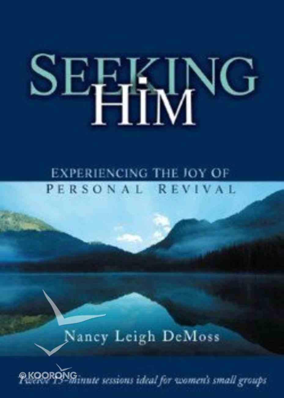 Seeking Him DVD DVD