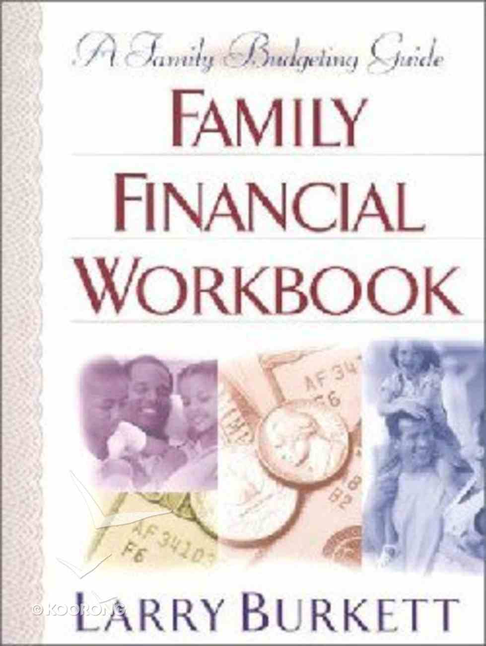 Family Financial Workbook Paperback