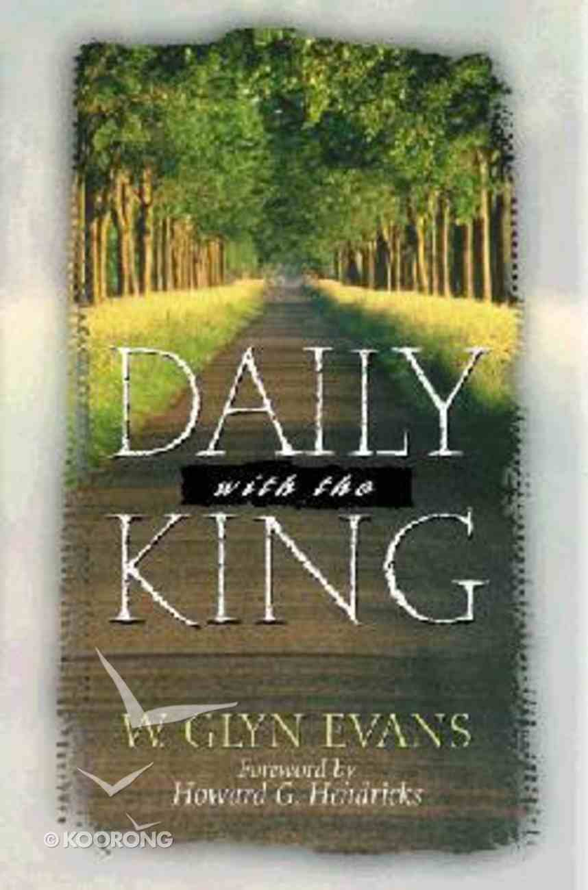 Daily With the King Hardback