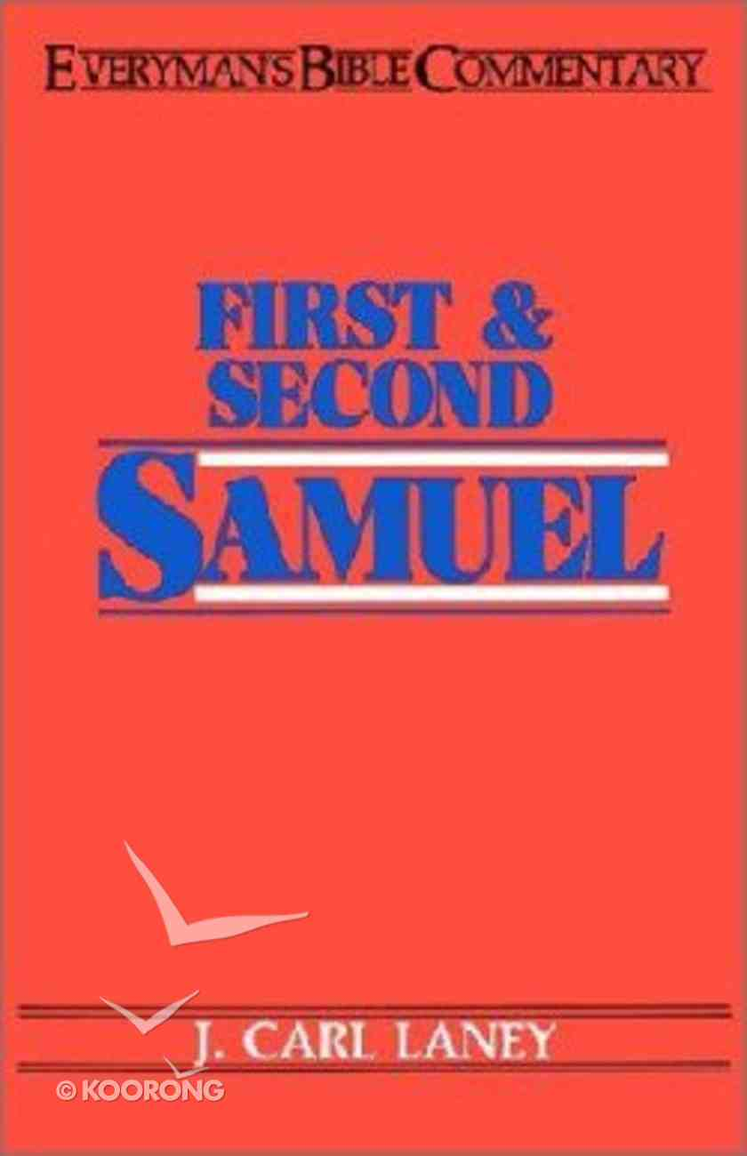 1&2 Samuel (Everyman's Bible Commentary Series) Paperback
