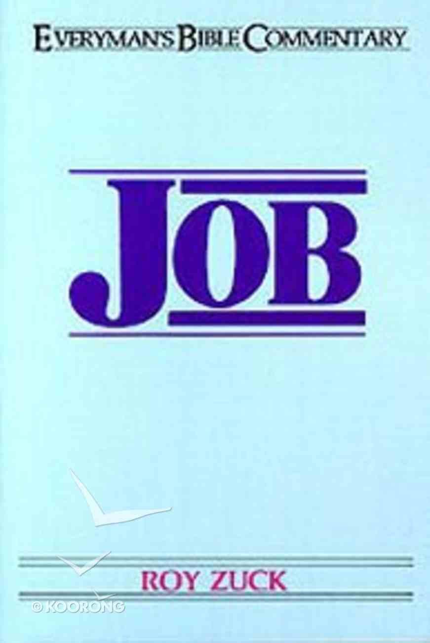 Job (Everyman's Bible Commentary Series) Paperback