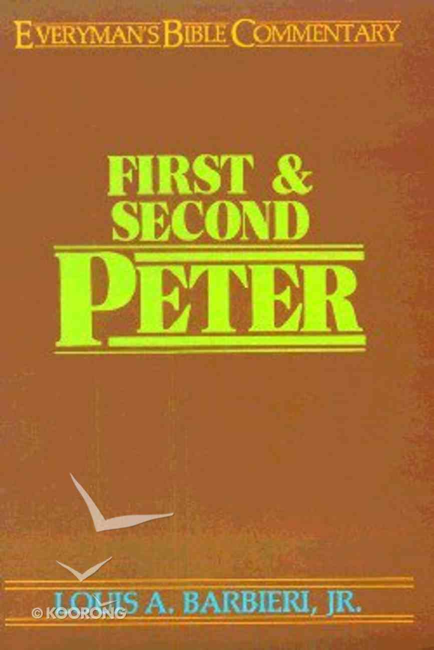 1&2 Peter (Everyman's Bible Commentary Series) Paperback